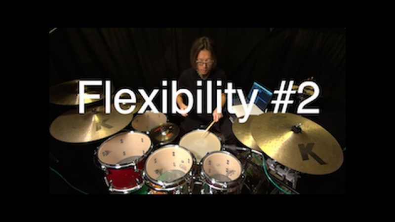 Simon Phillips influenced hand foot paraddidle exercise by Ryo Tanaka