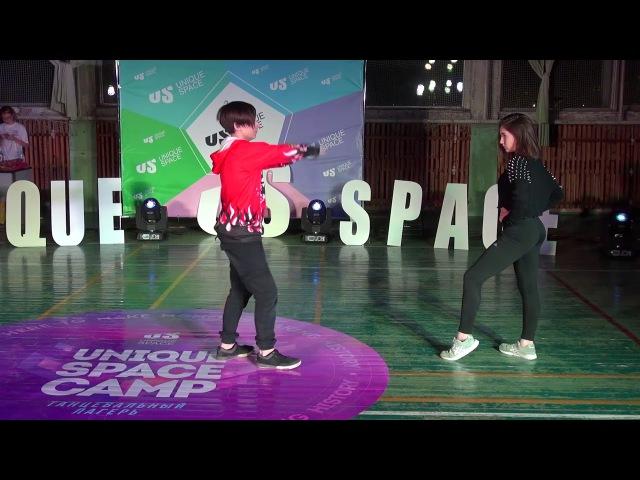 UNIQUE SPACE CAMP | 07.01.2018 | Гулькова Алена vs Рудой Валера