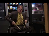 Dwight Schrute drumming (The Office) High On Fire - Luminiferous #coub, #коуб