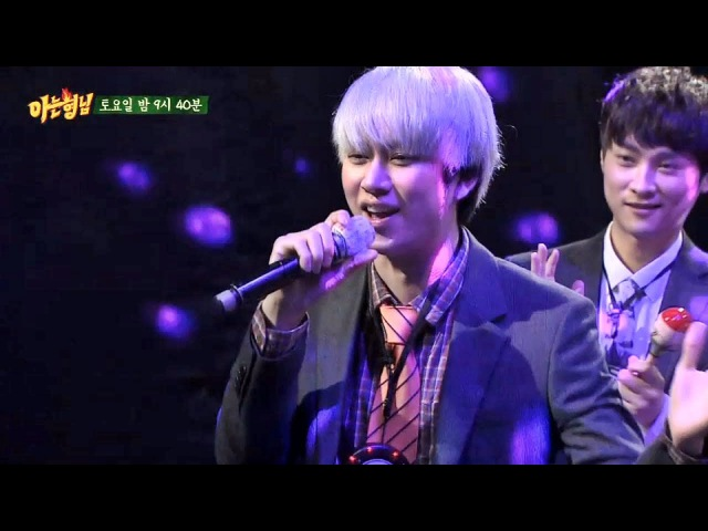 [미공개] 김희철 노래방 가창력 폭발 - 아는 형님 4회