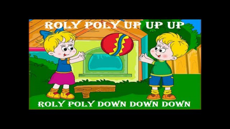 Roly Poly Up Up Up | Kids Nursery Rhymes