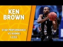 Star Performance. Ken Brown – 22 pts, 5 reb 5/6 from downtown in a BIG win @ Khimki!