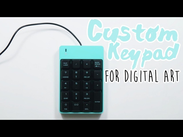 DIY Custom Keypad for Digital Art