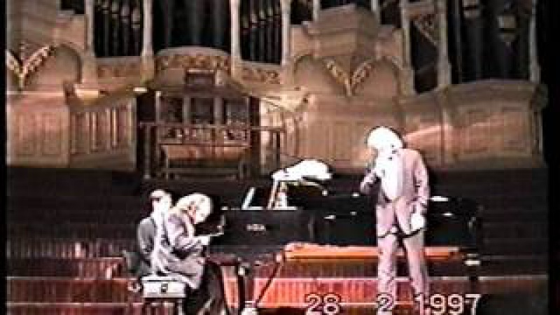 Mikhail Arkadiev Dmitry Hvorostovsky Sydney Australia 1997