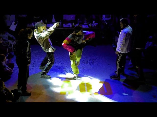ZYKO KOSNI MOSEY Sarcellite VS PAUL DONKA SMISH Quart De Finale Hip Hop AOD 11