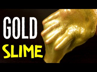 GOLD GLITTER SLIME - LIQUID METAL PUTTY YouTube Play Button