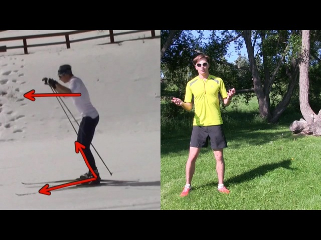 How to Skate Ski: Improve Your Glide