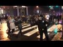 Even police are celebrating in Philadelphia