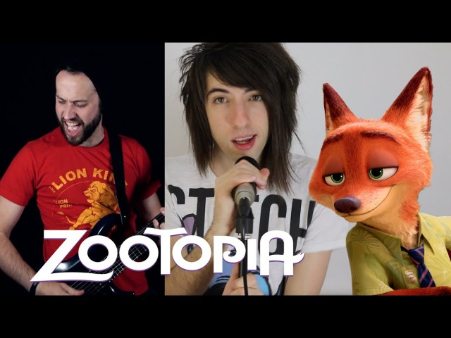 Try Everything - Zootopia / Shakira (Rock cover ft. Jonathan Young)