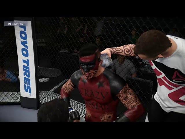 UK-X 5 - Title Fight - Luka StarZzz vs CrazyRussian209