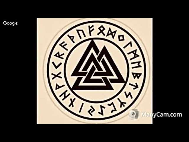 The Valknut is a symbol of folk remembrance sacrifice honour