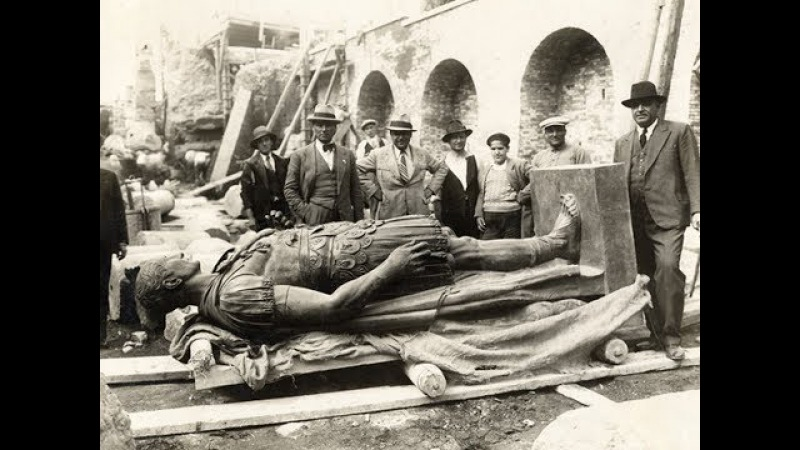 Откопанный Рим. Фотографии и документальный фильм.