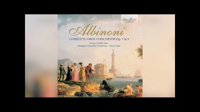 Albinoni Complete Oboe Concertos (Full Album)