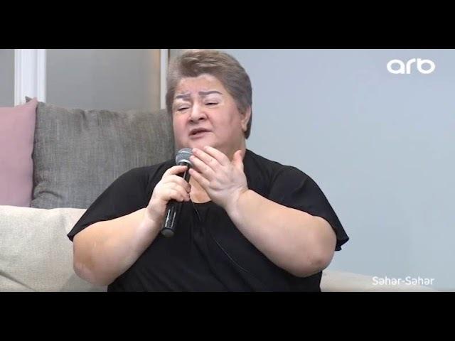 Konul Xasiyeva xestelikden sonra ilk defe efirde - Seher-Seher - ARB TV