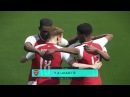 Arsenal vs Crystal Palace   Full Match Goals 2018   Gameplay PES 2018