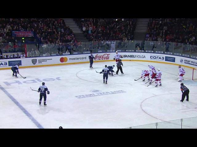 КХЛ (Континентальная хоккейная лига) - Моменты из матчей КХЛ сезона 16/17 - Гол. 3:0. Осала Оскар (М