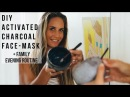 Hawaii Bed Time DIY Charcoal Face Mask Vegan Golden Milk Latte
