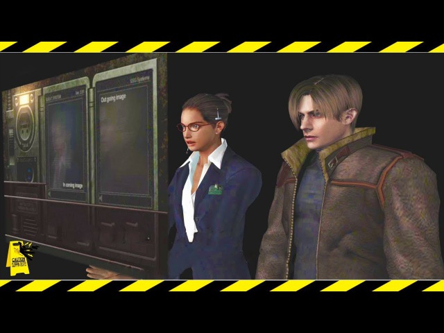 Free Camera - Resident Evil 4   Slipping Out