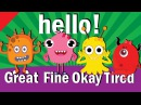 Hello Song | Hello How Are You | Hello Song for Kids | Kindergarten ESL | Fun Kids English