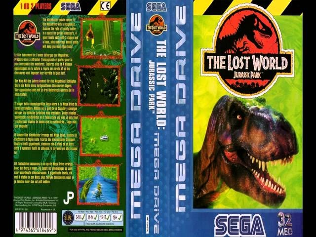 [SEGA Mega Drive/Genesis Music] Jurassic Park 2 - The Lost World