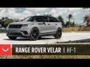 Vossen Hybrid Forged HF 1 Wheel Range Rover Velar Gloss Black