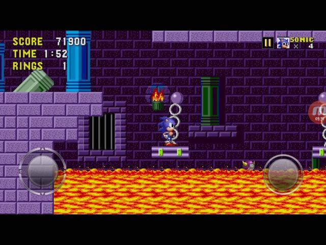 Sonic1 марбл зон акт3