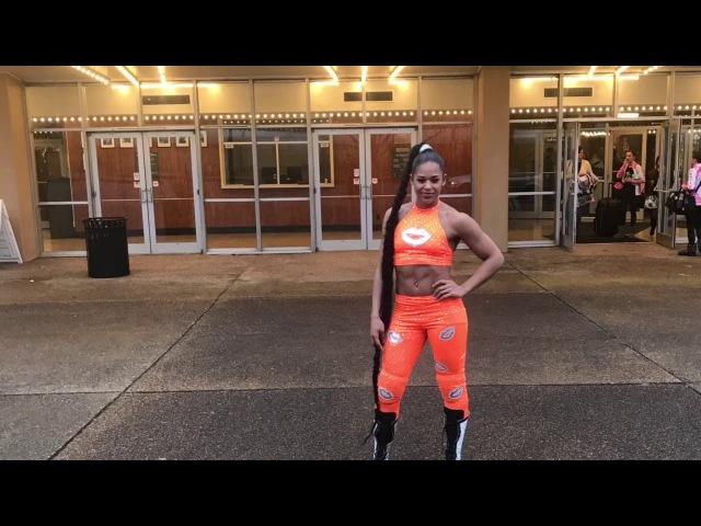 Bianca Belair- D.I.Y Tennessee Volunteer Orange Gear