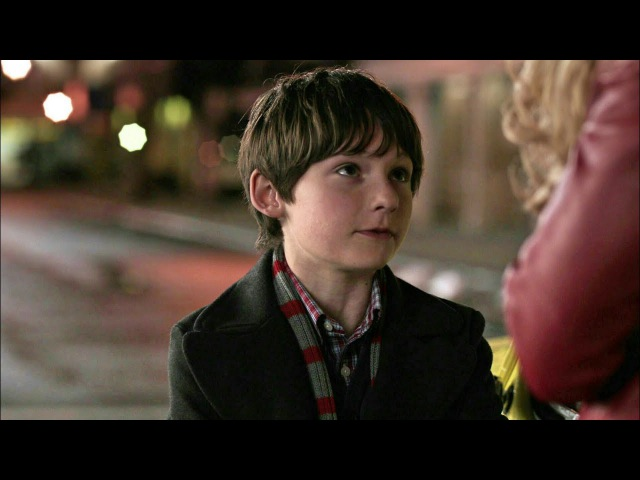 Once Upon A Time 1x01 Henry Talks About The Curse To Emma - Emma Meets Archie Scene