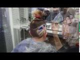 Hair-tattoo union jack