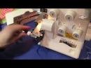 Оверлок Juki MO 654 DE видео обзор Шьем разные виды тканей