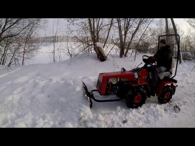 Видеообзор бульдозерного оборудования на тракторе МТЗ 132Н за 184.000руб.