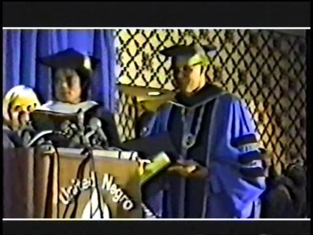 Whitney Houston Michael Jackson at United Negro College Fund 88