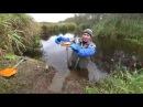 Особенности капканной охоты на бобра, по открытой воде.