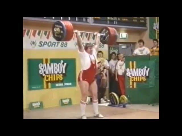 Clean and Jerk 260 kg club