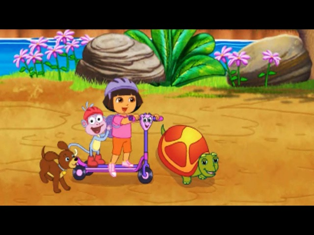 Alphabet Halloween Dora the Explorer Find Those Puppies Games for kids Online
