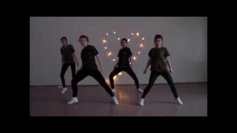 Мини танец от Heartbeat. Jah Khalib - Любимец твоих дьяволов. dance cover