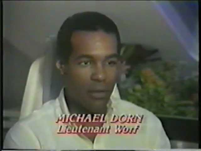 Michael Dorn Star Trek The Next Generation Pre Air Interview