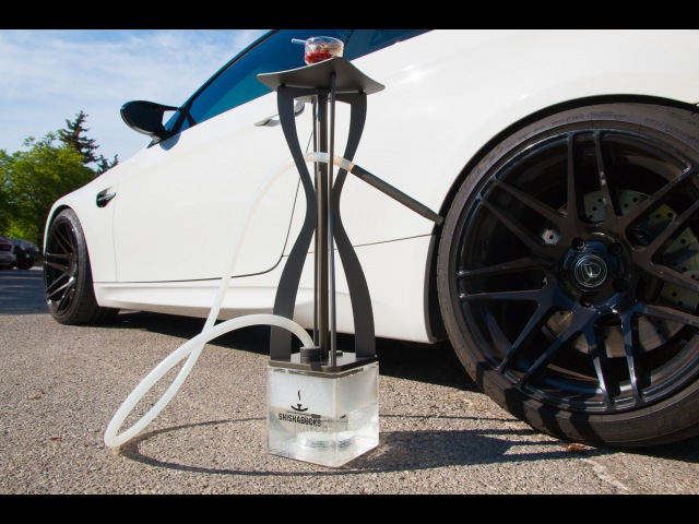 BMW M power hookah by Shishabucks