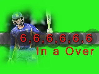 6 Six In A Over By Shoaib Malik