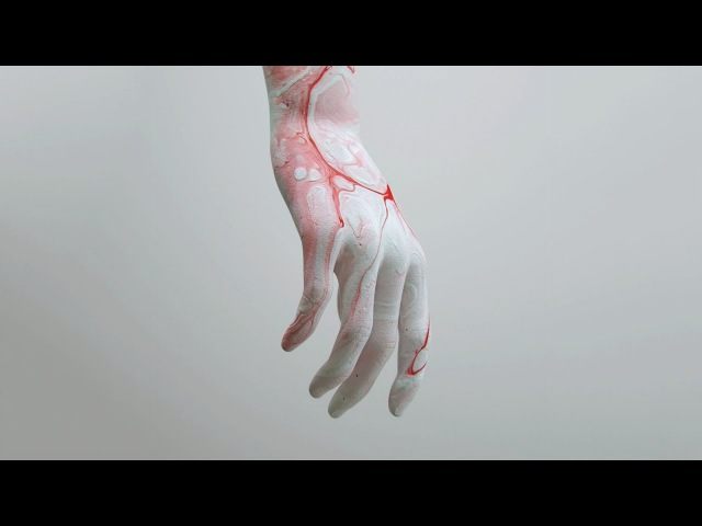 Painted Hand Art Process - Cinema 4D, Octane Renderer, Photoshop