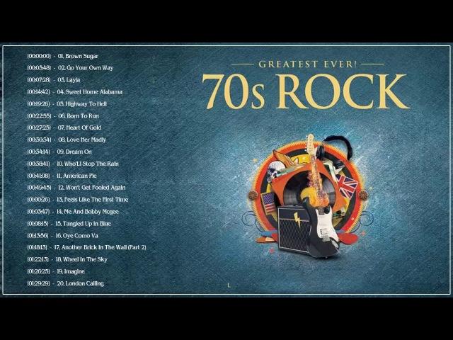Top 50 Greatest Rock Songs 70's | Best Classic Rock Songs 70's| Rock Songs 70's Playlist 2018
