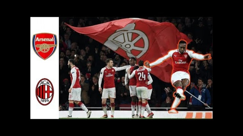Arsenal 3-1 AC Milan Match Review | Danny Welbeck Scores A Brace Donnarumma Has A Shocker