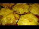 Мясо запеченое с ананасами и сыром Meat baked with pineapple and cheese