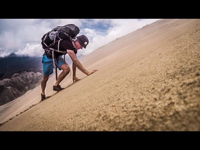 PERU - Climbing the World's Tallest Sand Dune - Cierro Blanco (2078m) | BACKPACKING PERU 14