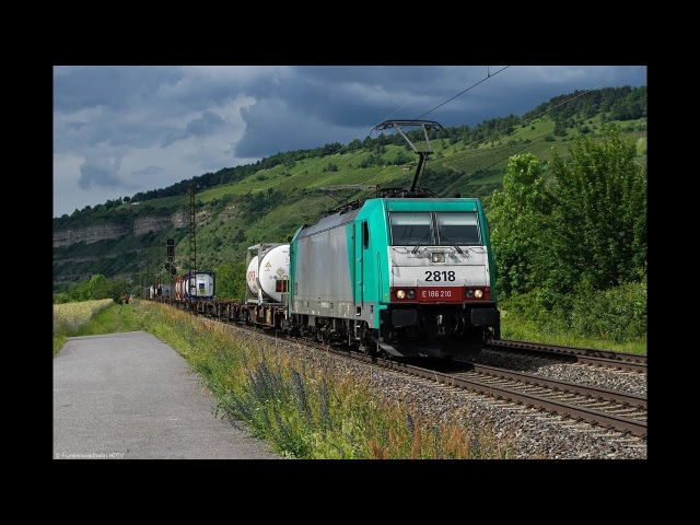 Güterzüge im Blockabstand - TXL, Kaiser Franz, BoxXpress, RTB, ÖBB uvm. im Maintal