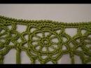 Como hacer un manton de crochet unir rosetas