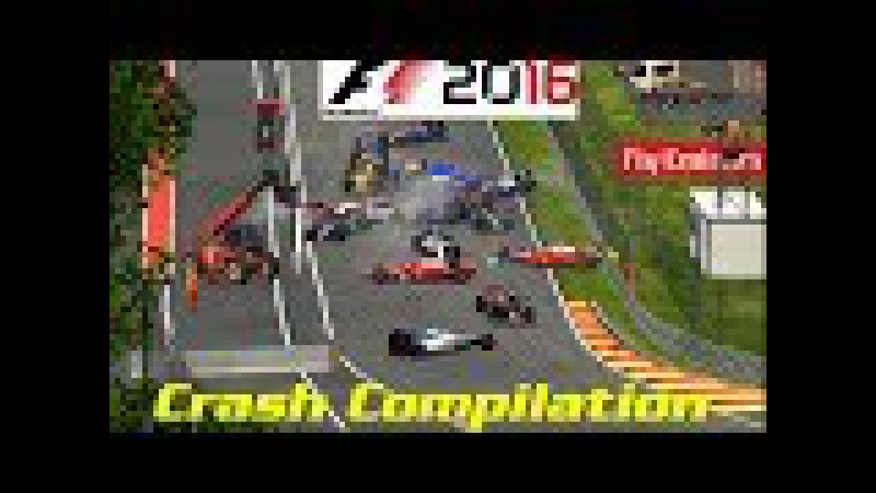 Formula1 game deadly accidents and crashes