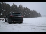 Opel Insignia Country Tourer - First Snow, Climbing to the hill (English Subtitles)