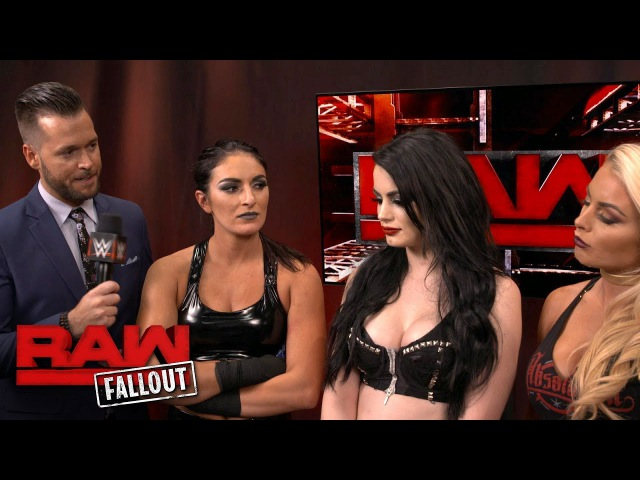 Paige addresses her neck injury Raw Fallout Jan 15 2018