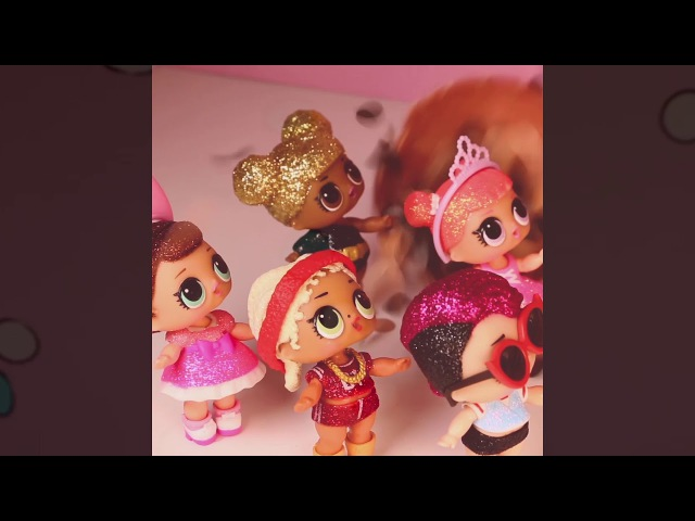 Happy New Year from L.O.L. Surprise! | Stop Motion Cartoon | Baby Doll Surprise Toys